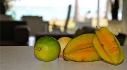 Fruits locaux de guadeloupe